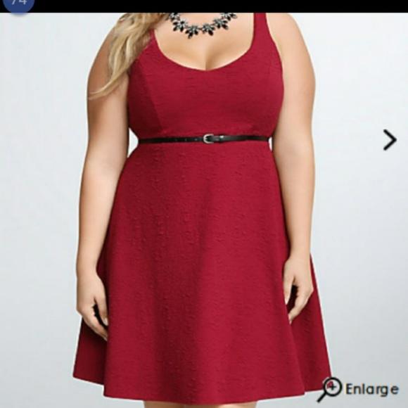 torrid Dresses & Skirts - Red stretchy dress from Torrid